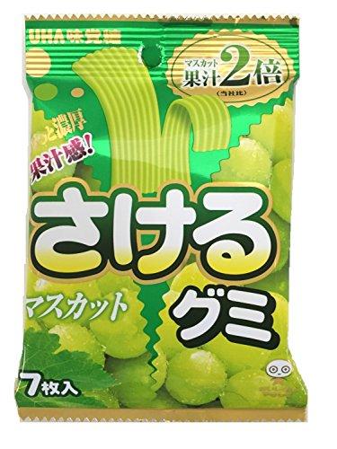 味覚糖 さけるグミ マスカット 7マイ×10袋