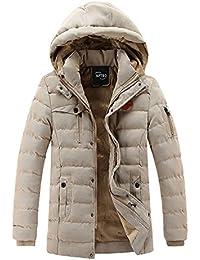 APTRO(アプトロ) ダウンコート メンズ 中綿 冬 分厚い 裏起毛 ダウンジャケット