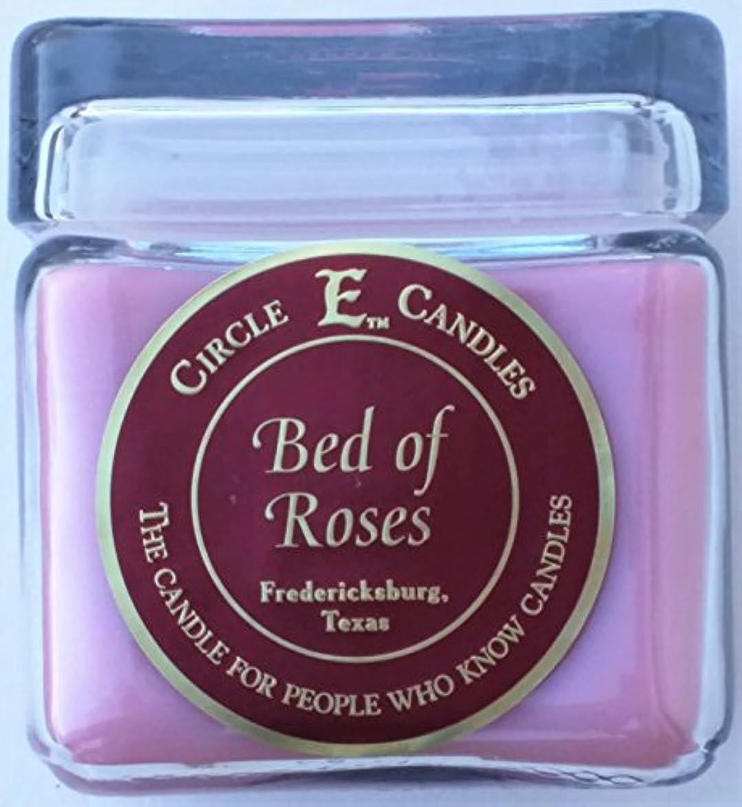 トロリー同僚ディレイ28oz円E Bed of Roses Candle