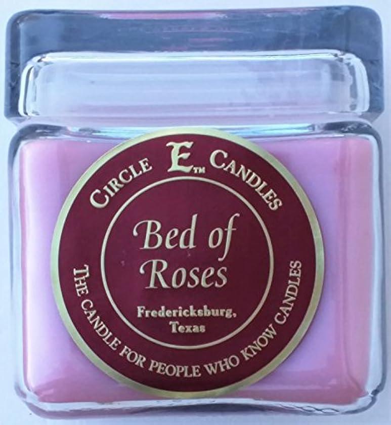 洞察力アーカイブ溝28oz円E Bed of Roses Candle