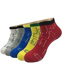 Sumery 原宿古風ファッションコットンソックス 健康で防臭性いい 礼装用 5足セット