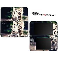new3DSLL 【スキンシール】 New ニンテンドー 3DS LL /AN06/Kitty Praying 子猫 祈り