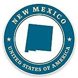 2 x 30cm ニューメキシコ州 - ノートPCやタブレット用ビニールステッカー #9416
