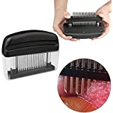 Meat Tenderizer Tools with Stainless Steel Blade - Kitchen Gadgets for Tenderizing Meat, Beef, Pork for BBQ Cooking