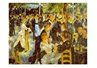 Moulin Galette (ルノワール)ジグソーパズル印刷 252 Pieces PUZLIMPR057_HR_252P