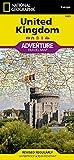 National Geographic United Kingdom Adventure Travel Map: Travel Maps International Adventure Map (National Geographic Adventure Map: Europe) 画像
