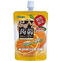オリヒロ ぷるんと蒟蒻ゼリー 低カロリー 温州みかん 130g×8個