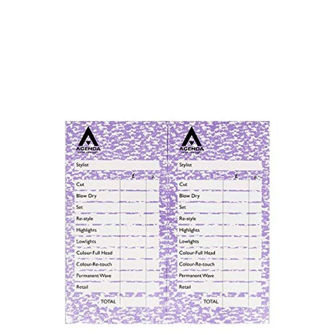 リア王話アグネスグレイアジェンダ サロンコンセプト チェックパッドモーブ12x100リーフ[海外直送品] [並行輸入品]