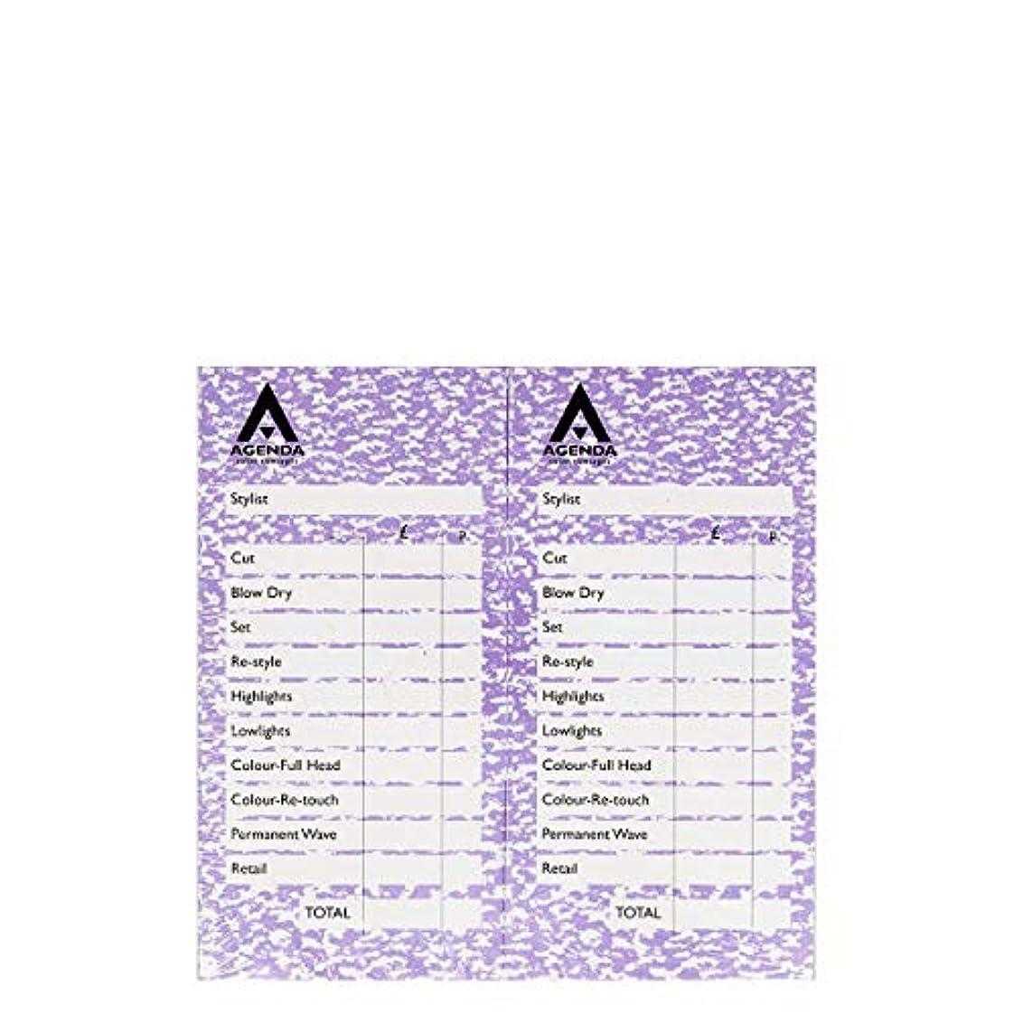 操作可能出発神社アジェンダ サロンコンセプト チェックパッドモーブ12x100リーフ[海外直送品] [並行輸入品]