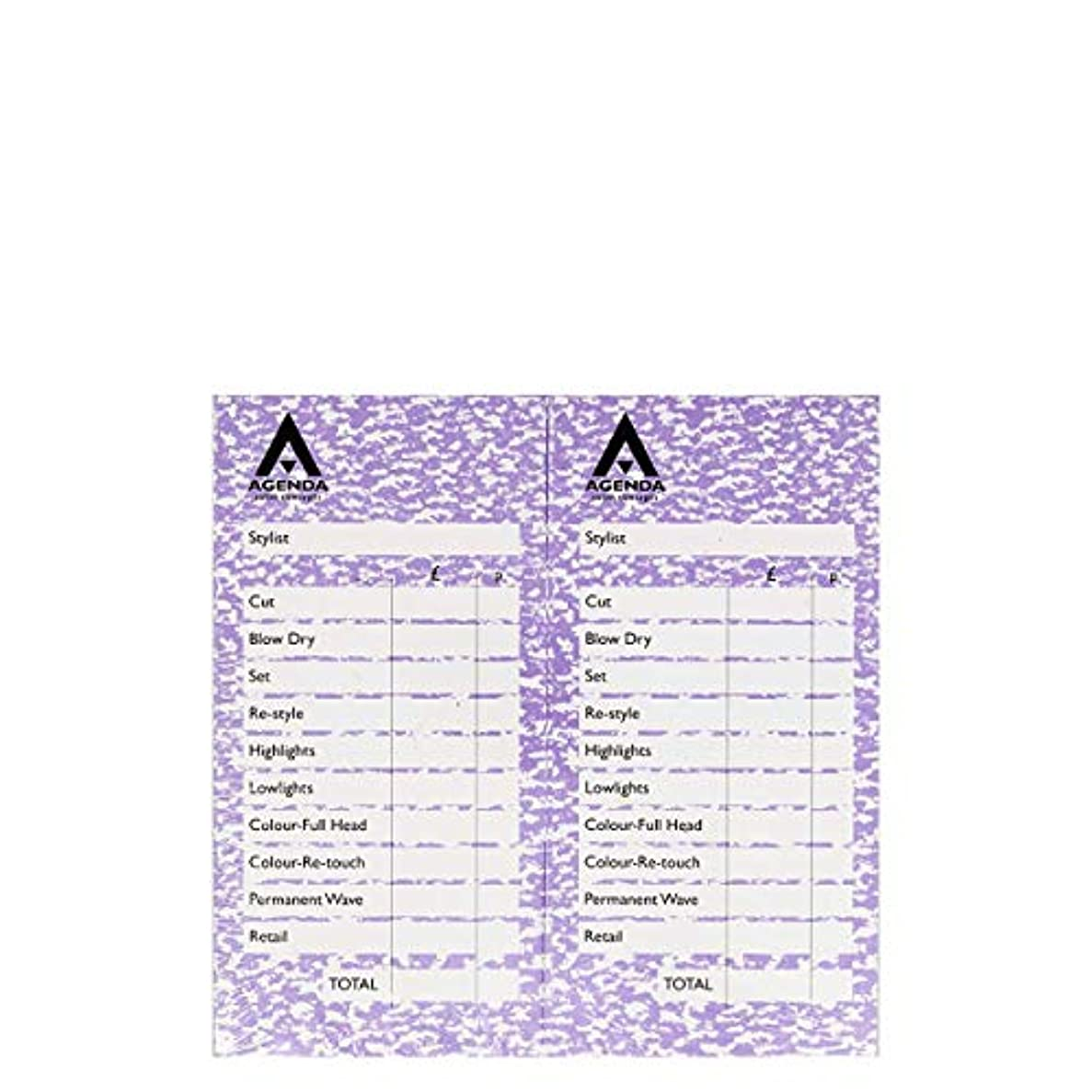 サイクルコモランマ識別するアジェンダ サロンコンセプト チェックパッドモーブ12x100リーフ[海外直送品] [並行輸入品]