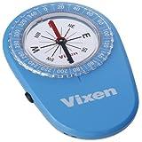 Vixen コンパス オイル式コンパス LEDコンパス ブルー 43024-6