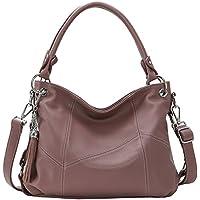 Vintage Tote Bag Kenoor PU Leather Handbag Large Capacity Designer Purses Classical Satchel Hobo Bags for Women Fashion