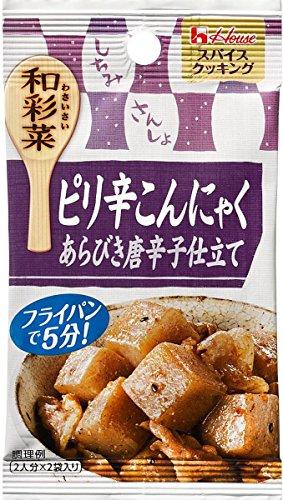 和彩菜 ピリ辛こんにゃく あらびき唐辛子仕立て 袋6.5g×2