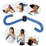 KUWAN®内股ダイエット 太ももダイエット 筋トレ シェイプアップ もも裏筋トレ 脚やせ お腹やせ バストアップ フィットネス 簡単エクササイズ ダイエット器具 (ブルー)