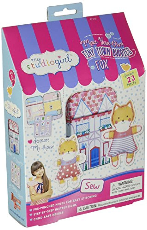 My Studio Girl Tiny Town Buddies - Fox by U-Create