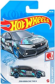 ホットウィール(Hot Wheels) ベーシックカー 2018 ホンダ シビック タイプ R HBP01 ブラック