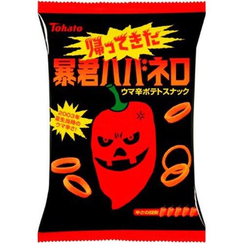 【ケース販売】東ハト 帰ってきた暴君ハバネロ 56g×12袋 フード お菓子 スナック菓子 [並行輸入品]