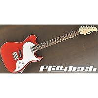 【国内正規品】 PLAYTECH プレイテック エレキギター TL-250II Rose Metallic Red