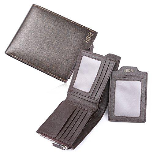 [パボジョエ]Pabojoe財布 二つ折り メンズ ブランド 本革 折りたた...
