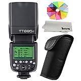 【正規品 技適マーク付き】GODOX Thinklite TT685N TTL 2.4G 無線ラジオシステム マスターとスレーブ スピードライト 懐中電灯 ストロボ Nikon D7100 D7000 D5200 D5100 D5000 D3200 D3100適用
