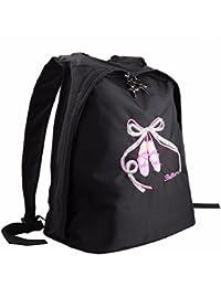 (フィーショー) FEESHOW バレエ レッスンバッグ バレエバッグ 女の子 バレエ用品 衣装バッグ トウシューズ