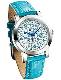 ハローキティ きらめきのスプラッシュブルー腕時計