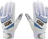 ゼット(ZETT) 野球 バッティンググローブ 両手用 Lサイズ ホワイト(1100) BG611