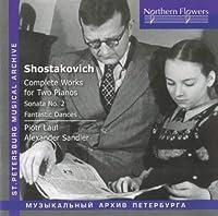 Shostakovich: Complete Works F
