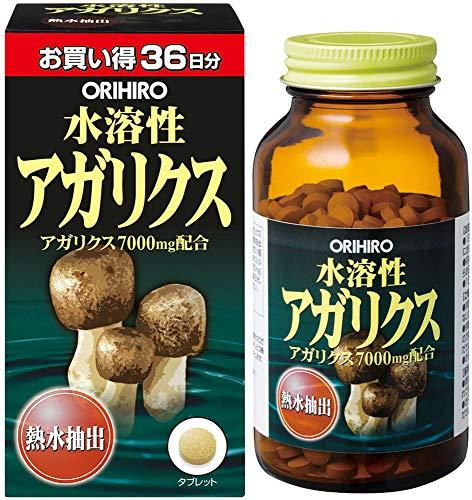 【Pick up!】 オリヒロ 水溶性アガリクス 432粒
