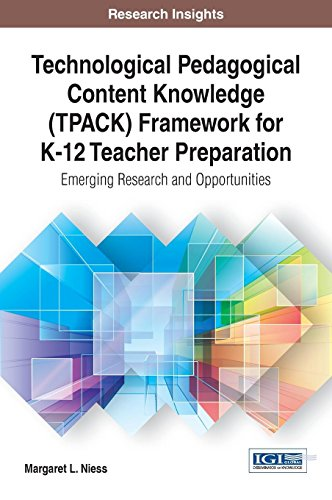 Technological Pedagogical Content Knowledge Tpack Framework for K-12 Teacher Preparation: Emerging Research and Opportunities (Research Insights)