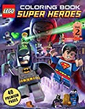 Lego Super Heroes Coloring Book Vol2: Funny Coloring Book With 40 Images For Kids of all ages.