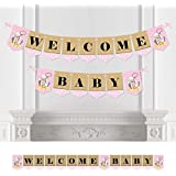 Little Cowgirl - Baby Shower Bunting Banner - Western Party Decorations - Welcome Baby [並行輸入品]