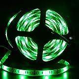 イドミせ LEDテープ 防水 24V 5m SMD5050 300連 白ベース 正面発光 切断可能 緑