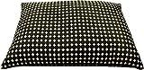 Best ソバ枕 - 枕 大型そばがら枕/ドット・ブラック/43x63cm/ピロケース付き/日本製/中袋にもファスナー付。そば殻の高さの調節が便利です。 (ドットブラック) Review