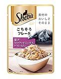 シーバ (Sheba) キャットフード リッチ ごちそうフレーク 贅沢シーフードミックス サーモン・えび入り 35g×12個 (まとめ買い)