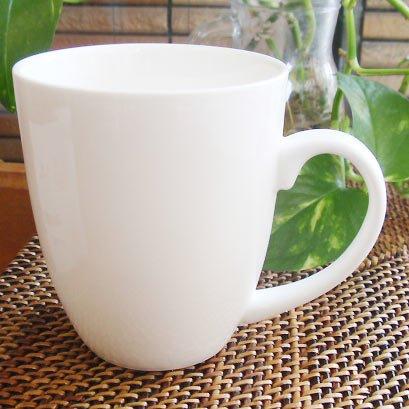 アウトレット【強化】クリーミーホワイト コーヒーマグカップ(350ml) 食器/洋食器/ナチュラル/...