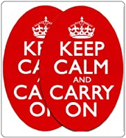 Keep Calm and Carry Onバンパーステッカービニール – Like車decals-be Calm and Carry On In Your Car