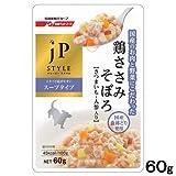 Amazon.co.jpジェーピースタイル ウエット 国産鶏ささみそぼろ さつまいも・人参入り 60g【単品】