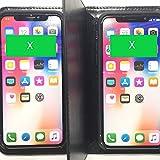 『ニコピッタン大』 No.PP、P8、PX、XX、X8  iPhonePlus、iPhoneX、iPhone8〜6 2個収納 ケース (X&X)