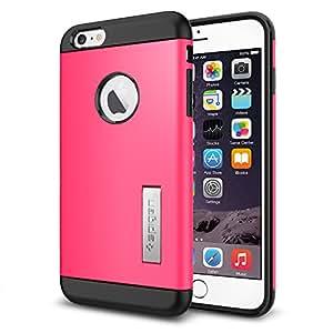 【Spigen】iPhone 6 Plus ケース, [ スリム+保護力+個性 ] スリム アーマー Apple iPhone (5.5) アイフォン 6 プラス カバー (国内正規品) (アザレア・ピンク 【SGP10908】)