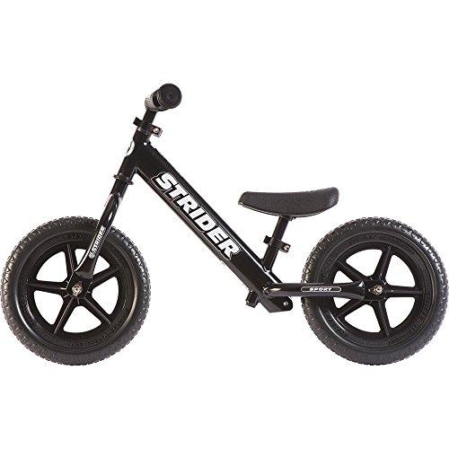 STRIDER(ストライダー) 12 SPORT (スポーツ) バランスバイク18ヶ月から5歳に最適 ブラック [並行輸入品]