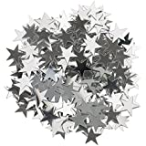 Baosity 紙吹雪 キラキラ 可愛い 結婚式装飾 ベビーシャワー クリスマス DIY装飾 全2サイズ6色 - 銀, 10mm