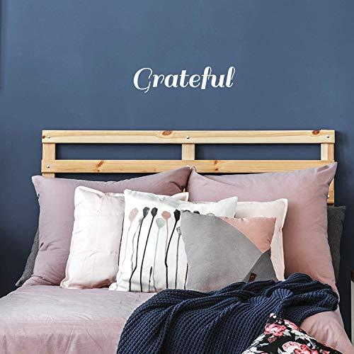 Vinyl Wall Art Decal - Grateful Word - 6.5