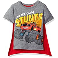 Freeze Nickelodeon Toddler Boys' Blaze and The Monster Machines Cape T-Shirt