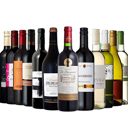 金賞受賞ワイン入り お手頃赤・白 ワイン12本セット