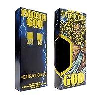 抽出God Mini Skinny Tipウィンドウ表示Foil Concentrateボックスvb-015 50 ブルー