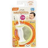 コンビ Combi テテオ teteo 乳歯ブラシ専用カバー じぶんでみがけた 乳歯ブラシ STEP2セット (10ヵ月頃~36ヵ月対象) のど突きしにくい安心設計