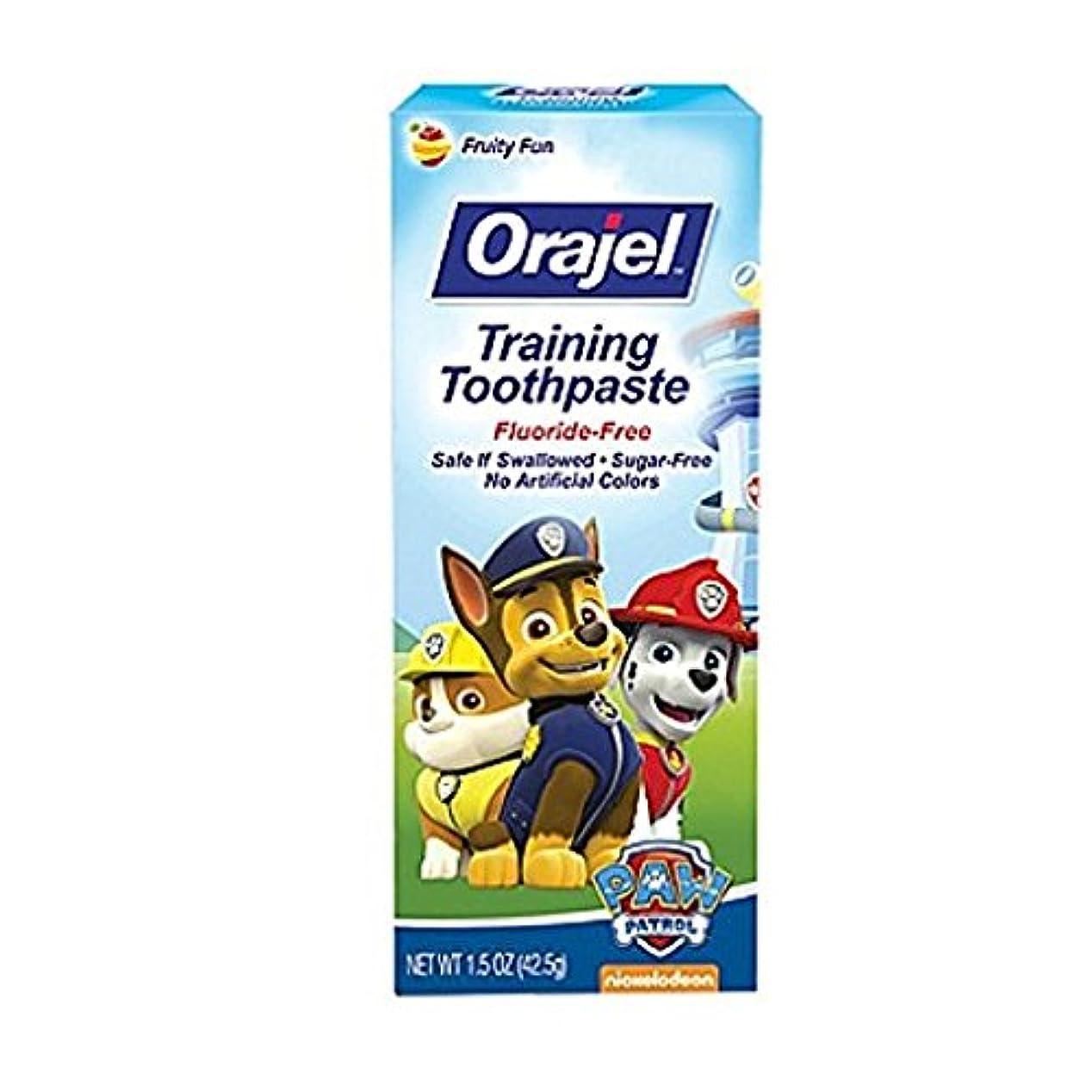 着替える論理的に廃棄Orajel 幼児教育ハミガキTootyフルーティーなフレーバー1.50オズ