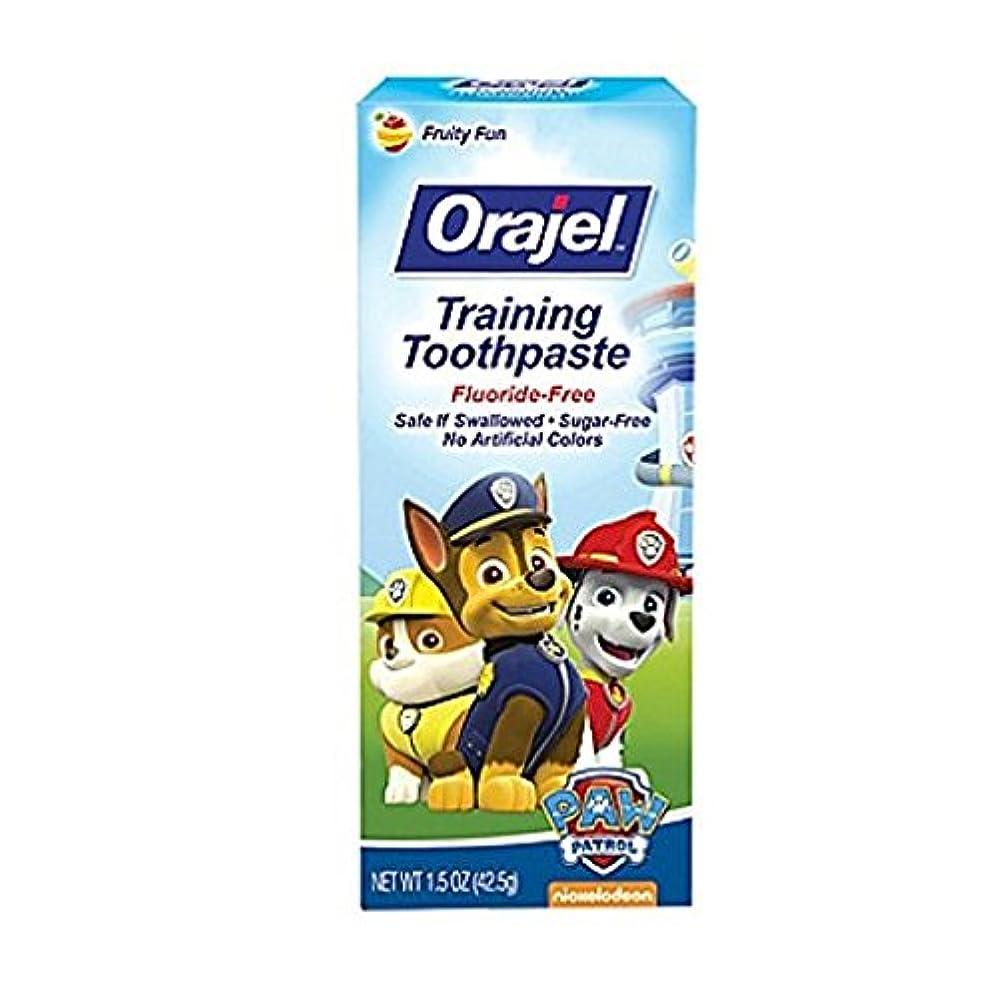ラインたとえ子供時代Orajel 幼児教育ハミガキTootyフルーティーなフレーバー1.50オズ