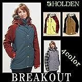 14-15 HOLDEN/ホールデン ASH DOWN jacket ウェア ジャケット レディース スノーボード M BW-STRIPE/BW-PLAID